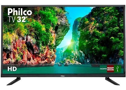 Tv Led 32 Philco Hd Com Conversor E Receptor Digital-preto