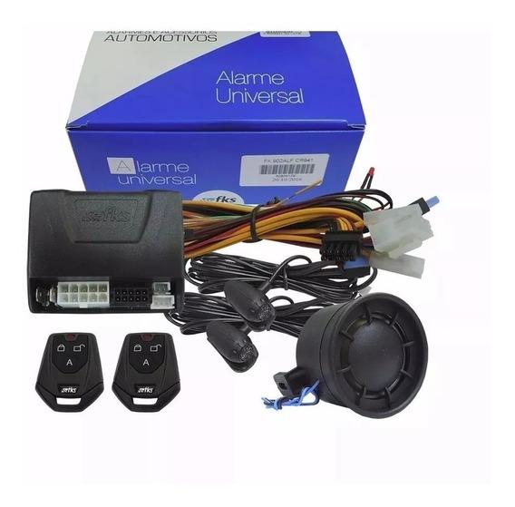 Alarme Automotivo Fks Fk902 S/ Bloqueio C/ Sirene - 2 Ctls