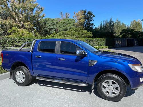 Ford Ranger 2014 Xlt M/t 4x4 Blindado Rb3 Blindada Rb3