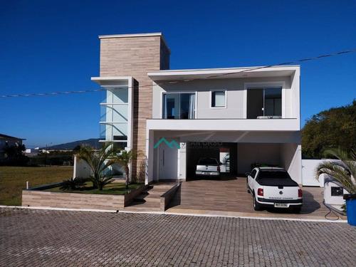 Casa Com 3 Dormitórios À Venda, 310 M² Por R$ 1.400.000,00 - Ingleses Do Rio Vermelho - Florianópolis/sc - Ca0260