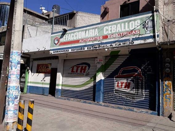 Casa En Venta Sobre Avenida Principal Con Dos Locales. Cerca Bancos, Mexibus