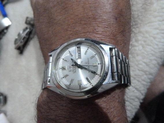 1 Relógio Orient Aut. Masc.mod. Ke 469wa7-60-co Cx 37 X 42 M