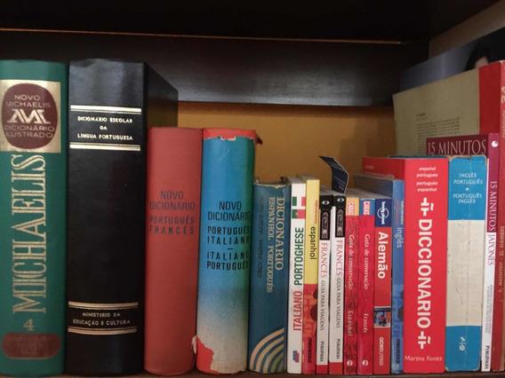 Dicionários Variados - Português E Línguas Estrangeiras