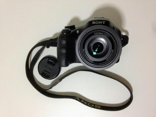 Câmera Sony Zoom 50xcybershot Hx400/bolsa Case/cartão De 8gb