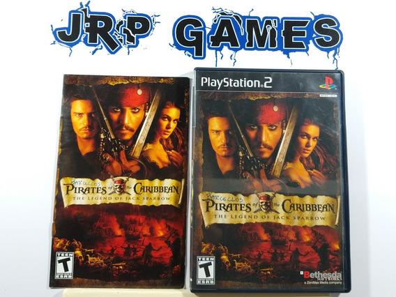 Pirates Of The Caribbean The Legend Original Americano Ps2