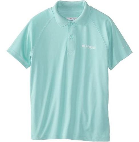Columbia Pfg Terminal Tackle Camisa Polo Infantil L (14-16)