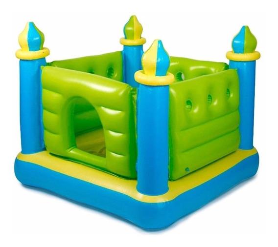 Castillo Inflable Intex Pelotero Saltarin Para Niños 132x132