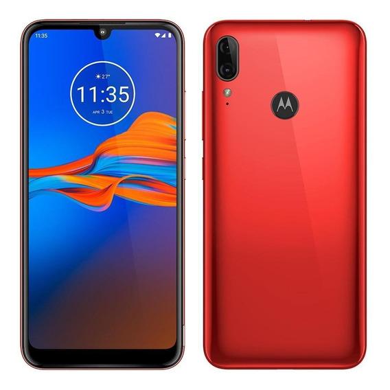 Smartphone Motorola E6 Plus,dual,vermelho ,tela 6,1 , 32gb