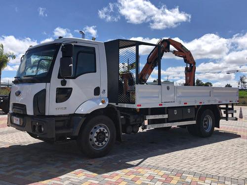 Cargo 1723 4x2 - Munck 7.5 E Carroceria De Aferição=mb,volvo
