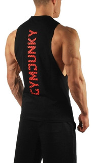Playera Bull Sin Mangas Gym Fitness Crossfit Gimnasio Hombre