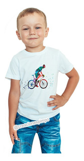 Camiseta Juvenil Hombre Ciclista Explosion Moda Life Cpr3