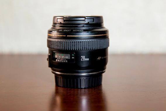 Lente Canon Ef 28mm F/1.8 Usm Ultrasonic