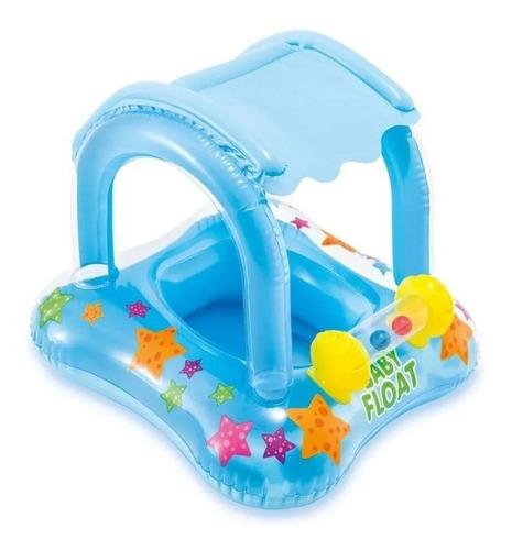 Bote Infantil C/ Assento E Cobertura 1 A 3 Anos Baby Float