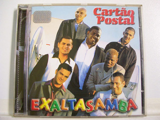 Exaltasamba, Cartão Postal, Cd Original Raro