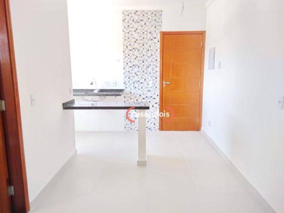 Apartamento Com 1 Dormitório À Venda, 35 M² Por R$ 139.000,00 - Jardim Gonçalves - Sorocaba/sp - Ap0545