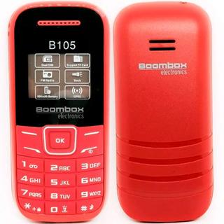 Celular Boombox B105 Radio Fm Camara Dual Sim Micro Sd Gprs