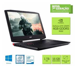 Acer Aspire Vx5, I7-7700hq, 16gb Ddr4 Ram, 1tb Hdd