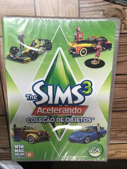 The Sims 3 Acelerando Coleção De Objetos Pc