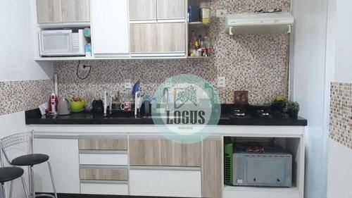 Imagem 1 de 20 de Apartamento Com 2 Dormitórios À Venda, 52 M² Por R$ 209.000,00 - Baeta Neves - São Bernardo Do Campo/sp - Ap1779