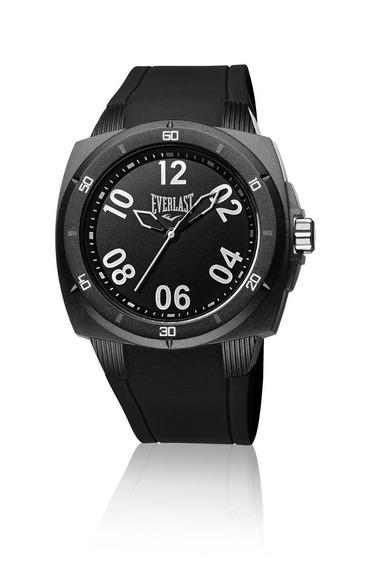 Relógio Pulso Everlast Bold E681 Caixa Abs Pulseira Silicone