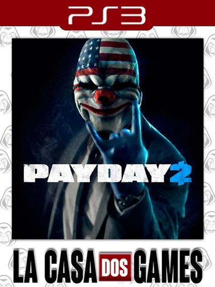 Payday 2 - Psn Ps3 - Envio Imediato
