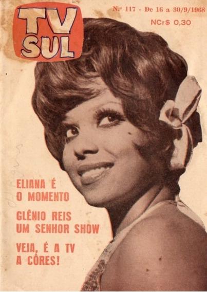 Tv Sul 1968 Eliana Pittman Patricia Ayres Jerry Erasmo Carlo