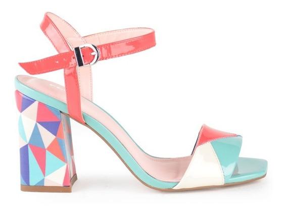 Zapatos Zapatillas Sandalias De Mujer Cuero Hidden - Ferraro