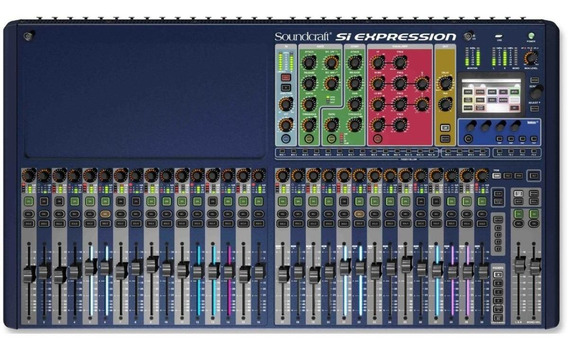 Mesa Digital Soundcraft Si Expression 3 C/ 32 Canais Oferta