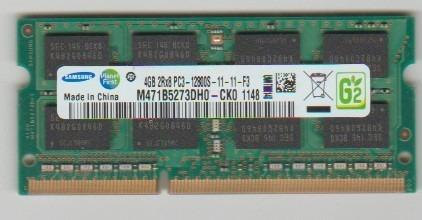 Memoria Note 4gb Ddr3 1333mhz 2rx8 10600s Samsung