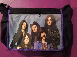 Mochila Deep Purple Rock Heavy Metal