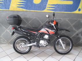 Yamaha Lander Xtz 250 Preta 2012