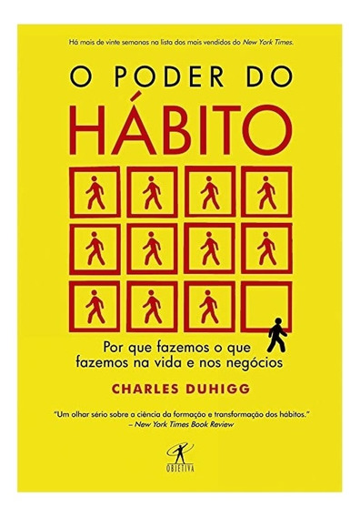 Livro O Poder Do Hábito - Charles Duhigg   Auto Ajuda