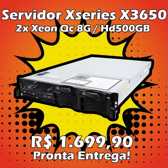 Servidor Xseries X3650 2x Dual 2ghz / 8gb Ram 6x Hd 73