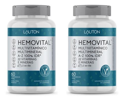 Hemovital - Multivitamínico 60 Comprimidos Lauton (2 Un)