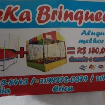 Aluguel De Cama Elastica E Piscina De Bolinha!