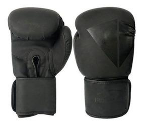 Luva De Boxe Ironarm Premium 12 Oz Double Black