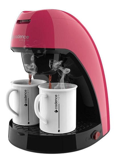 Cafeteira Cadence Single Colors CAF21 Rosa 110V