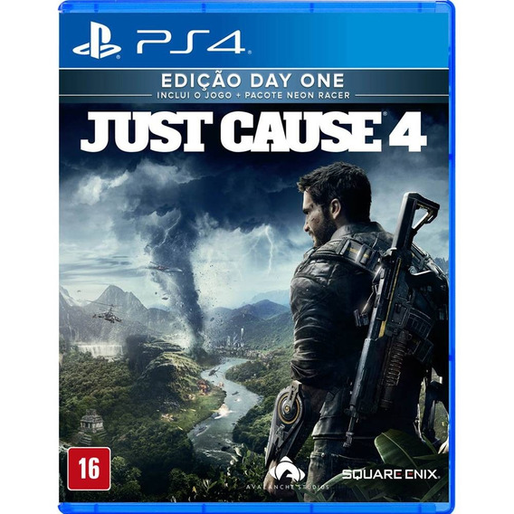 Just Cause 4 Day One Ps4 Mídia Física Lacrado Em Português