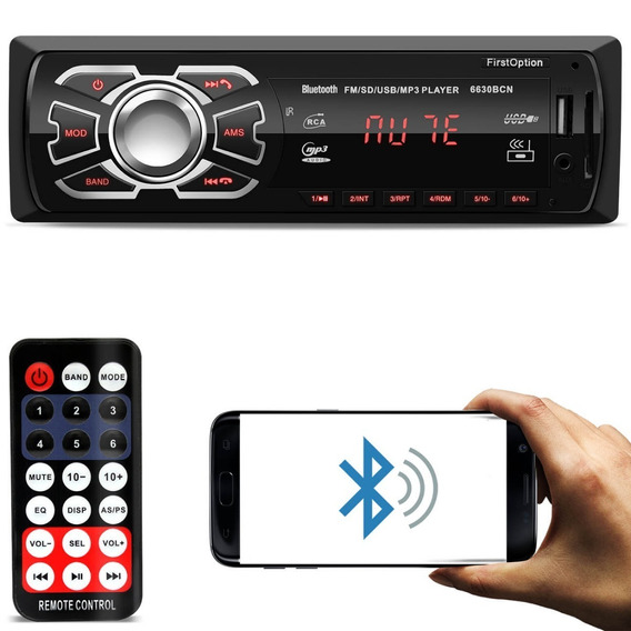 Radio Som Automotivo Mp3 Bluetooth Usb Pra Renault Clio 2011