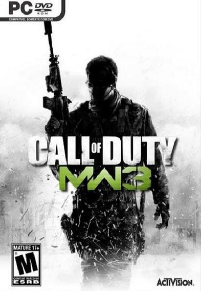 Call Of Duty Modern Warfare 3 Pc - Steam Key (envio Já)