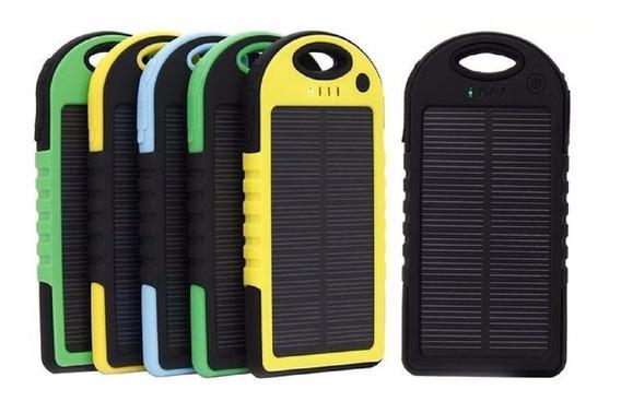 Cargador Lampara Solar Power Bank 12000 Mah Bateria Celular