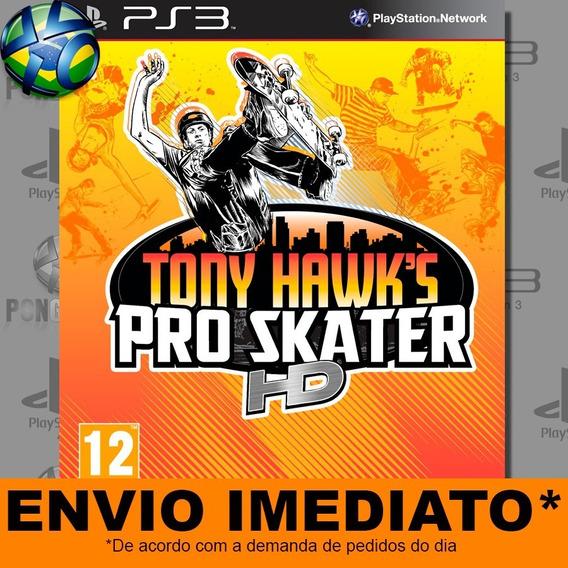Jogo Ps3 Tony Hawks Pro Skater Hd Psn Play 3 Envio Imediato