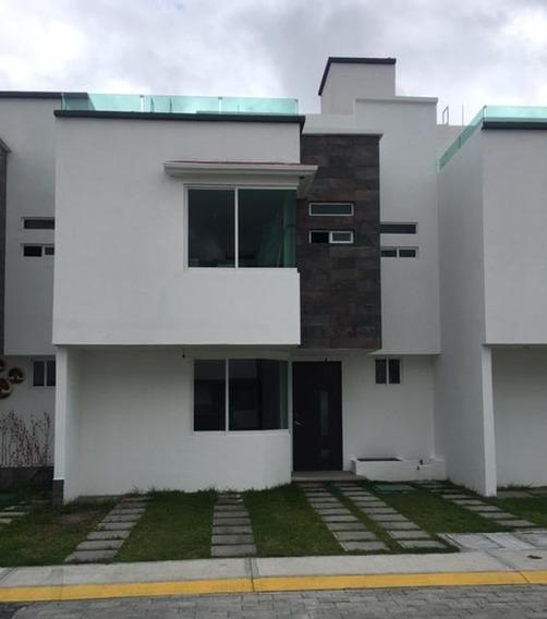 Renta Hermosa Casa Cerca Del Aeropuerto De Toluca