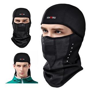 Kingbike Pasamontañas Esquí Cara Máscara A Prueba De Vien