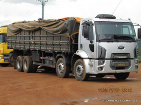 Ford Cargo 2428 8x2 Graneleiro 9,20 M