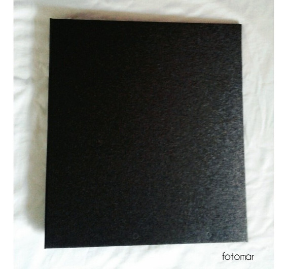 Capa Álbum Para Fotos 20 X 25 Cor Preto