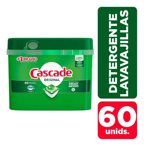 Detergente Para Lavavajillas Cascade Complete Capsulas 60 C/