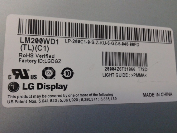 Modúlo Iluminação Para Display Lcd Lw200wd1 (tl) (c1)