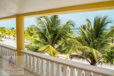 Venta Hermosa Casa Amueblada Frente La Playa Juan Dolio