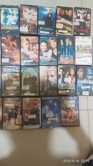 Filmes Vhs - Fita Magnética - Fita Cassete Lote Com 39 + 1